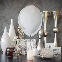 Decorative set 11 Model, this model, Textures low-poly model ready for VR, accurately design for perfect visualization Cinema 4d Render, Cloud Decoration, Low Poly 3d Models, Photo Picture Frames, 3d Visualization, 3d Max, Crystal Flower, Casket, Votive Candles