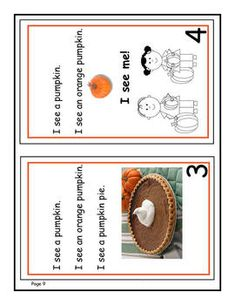 *** FREE! PUMPKIN Power: It's all about building literacy skills.  Includes a 6-page Emergent Reader,  Spin a picture, tell or write a story, make lists,  play a fall game.  Unit adapts easily to hands-on activities and different ages.  FREE