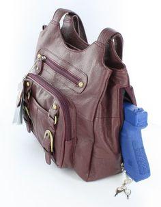Wine / Burgandy Leather Right / Left Locking Concealment Purse CCW Carry Pistol Gun Bag Roma F.C. http://www.amazon.com/dp/B00AZ3XIF6/ref=cm_sw_r_pi_dp_Ohtjwb1HH5PZ9