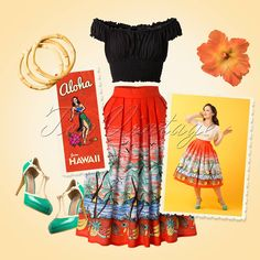 Aloha! Tropical is the way to go! Perfect for a lovely summerday