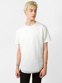 White Quilt Shirt by Epitome - ShopKitson.com