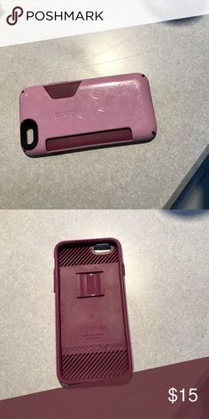 Speck iPhone 6/6s phone case with card holder Phone case that holds up to 3 cards!! Speck Accessories Phone Cases