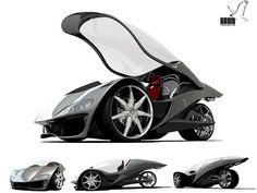 Hawk - auto de tres ruedas, Honda