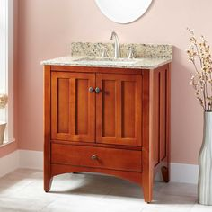 "30"" Ibarra Vanity for Rectangular Undermount Sink - Cherry"