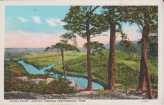 Signal Point Chattanooga Tennessee Vintage by postcardsofthepast