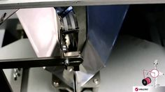 Velcro closure on VFFS Machine for pouches #packaging