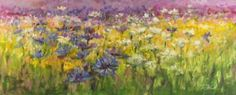 """Saatchi Art Artist Margaret Raven; Painting, """"Wild Meadow"""" #art"""