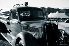 Vintage fire truck.