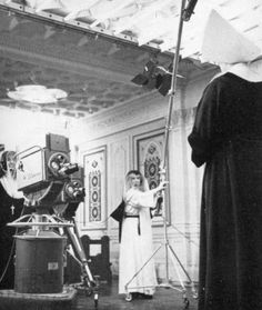 Production crew nuns.