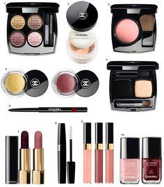 Produtos da nova coleção Éclats Du Soir de Chanel!