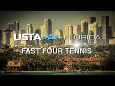 Adult tournaments are adopting exciting new alternative formats like Fast Four.  Players are finding these formats easier to participate, more enjoyable, and still very competitive.    Find out more about USTA Florida Adult Tournament at www.USTAFlorida.com/AdultTournaments