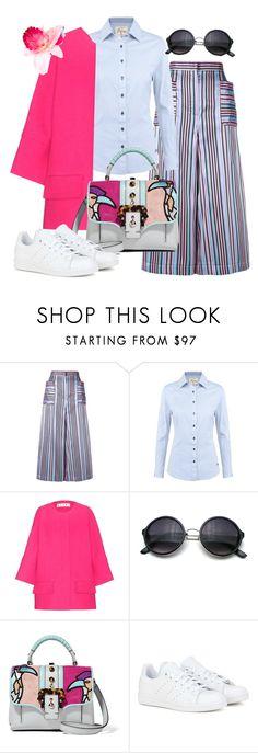 """street style"" by yinggao ❤ liked on Polyvore featuring Natasha Zinko, DUBARRY, Marni, Paula Cademartori, adidas, Piers Atkinson, women's clothing, women's fashion, women and female"
