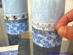 اشغال يدوية تزيين الشمع crafts-candle relook