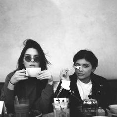 Morning coffee <3  #jenner #blackandwhite #inspiration