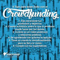 #TipsMicrosip 6 tips para tener éxito con el Crowdfunding