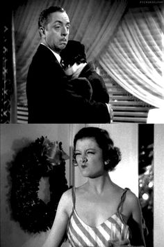Bill Powell, Maureen O'Sullivan, Myrna Loy: The Thin Man (1934)