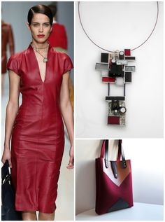 50 shades of red for this outfit aggressive but rigorous, also suitable for work thanks to the clean lines, sensual but not vulgar.  50 sfumature di rosso per questo outfit aggressivo ma rigoroso, adatto anche per il lavoro grazie alle linee pulite, sensuale ma non volgare.  Bag https://www.etsy.com/shop/FancyfeltShop Necklace www.connyskreations.etsy.com Dress Trussardi Spring 2015