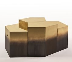 Stéphane Parmentier | Ormond Editions' new Polaris collection take Off is a series of small furniture part of Swiss brand | http://modernconsoletables.net