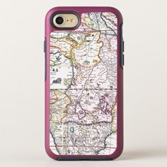 Map of Africa | 1696 OtterBox Symmetry iPhone 8/7 Case