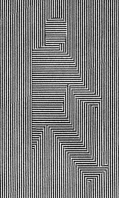Sharpie art Abstract art Line art Original drawing by RSwatercolor Optical Illusions Drawings, Illusion Drawings, Illusion Kunst, Illusion Art, Art Drawings Sketches Simple, Pencil Art Drawings, Drawing Ideas, Sketchbook Drawings, Doodle Art Designs