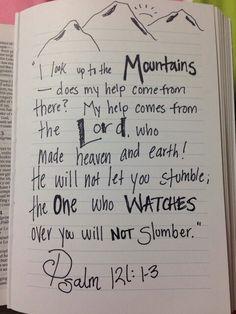 Psalms 121:1-3