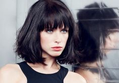 Coupes cheveux mi-longs automne hiver 2014 © L'Oréal Professionnel