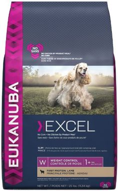 Eukanuba Excel Adult Weight Control Lamb - 25 lb * For more information, visit image link.
