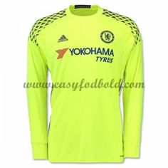 Fodboldtrøjer Premier League Chelsea 2016-17 Målmand Hjemmetrøje Langærmede Premier League, Chelsea 2016, Football Kits, Arm, Long Sleeve, Sleeves, Mens Tops, T Shirt, Clothes