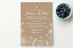 Wildflowers Bridal Shower Invitations by Kristen Smith at minted.com