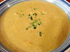 Creamy Mushroom and Chicken Soup