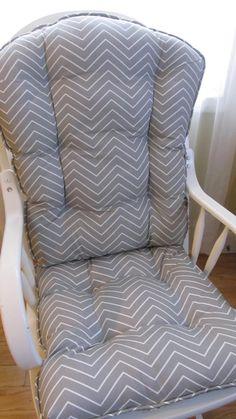 Navy Chevron Custom Rocking Chair Cushions By MayberryandMain | Custom  Rocking Chair Pads | Pinterest | Rocking Chair Pads, Rocking Chairs And  Navy Chevron