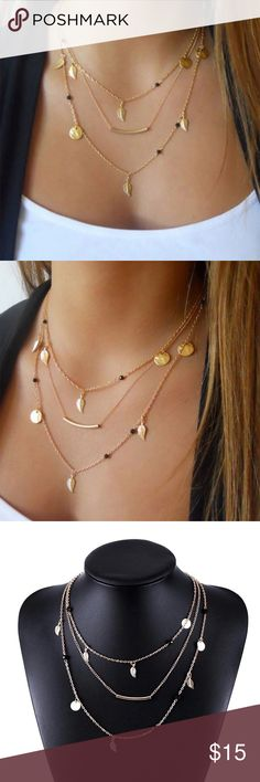 💥NEW HOT 💥Necklaces multi layer💥 Necklaces multi layer  Really beautiful Jewelry Necklaces