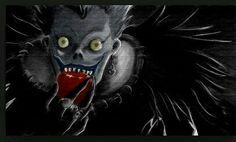 Death Note - Shinigami Ryuk by danielbogni on DeviantArt Death Note Cosplay, Shinigami, Death Note Wallpaper Iphone, Manga, Death Note Kira, Light Yagami, Widescreen Wallpaper, Iphone Wallpapers, Disney Drawings