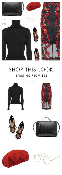 """""""The Dolce & Gabbana Skirt"""" by amberelb ❤ liked on Polyvore featuring Dsquared2, Dolce&Gabbana, Tory Burch, Jil Sander, kangol, MANGO and J.W. Anderson"""