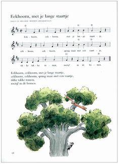 lied Eekhoorn muziekblad Music For Kids, Elementary Music, Songs To Sing, Autumn Theme, Preschool Crafts, Autumn Leaves, Animals, Film, Mardi Gras