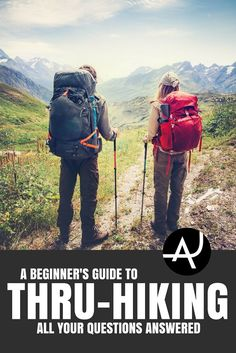 How to Get Started Thru-Hiking - Hiking Tips For Beginners – Backpacking Tips and Tricks for Women and Men Backpacking For Beginners, Backpacking Tips, Hiking Tips, Hiking Gear, Hiking Backpack, Men Hiking, Hiking Boots, Solo Camping, Camping Gear