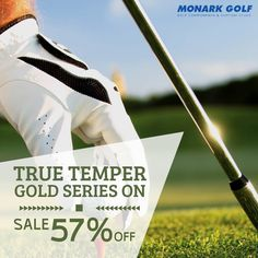MonarkGolf presents a great series of True Temper at very affordable prices.  The lightest steel shafts available, delivering ultimate stability and consistency now on the sale at $10.90 only.  #MonarkGolf #GolfClubs #GolfProducts #Golfing #Golfers #GolfBalls #ShopNow #onlineShopping #BuyNow Buy Golf Clubs, Cheap Golf Clubs, Discount Golf, Golf Club Grips, Golf Club Head Covers, Golf Drivers, Golfers, Consistency, Golf Ball