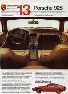 1983 Porsche 928 ad
