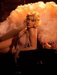 Christina Aguilera's burlesque