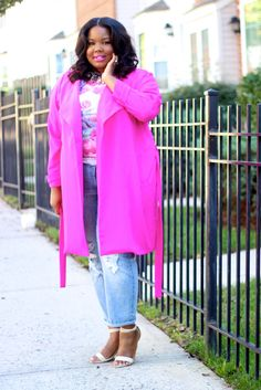 Trench Coat c/o Boohoo   Top c/o Clashist   Jeans/ Ring- c/o Fashion to Figure   Shoes - Call It Spring (sold out)               Lipstick -  Maybelline Vivids color: Rose