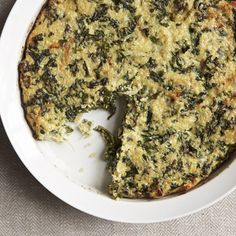 Quinoa and Kale Crustless Quiche Recipe on Food52 recipe on Food52