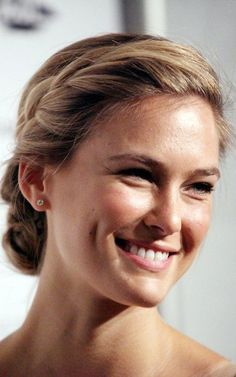 Image result for pinterest hairdos buns with braids at neck