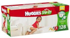 Huggies Little Movers Slip-On Diaper Pants, Size 5, 128 Count, now available to buy for as low as $43.81