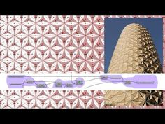 AL Bahr Tower's Folding Responsive Skin with Attractor | Grasshopper - YouTube
