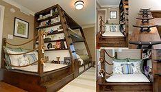 Bunk bed ART DECO - Caribbean model: Amazon.co.uk: Kitchen & Home