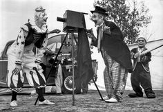 Webster Brothers Circus clowns, 1947
