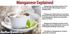 Image result for manganese benefits