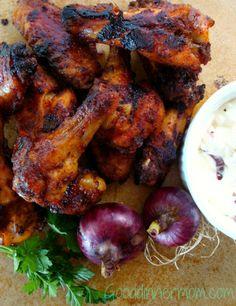Sweet Heat Roasted Chicken Wings