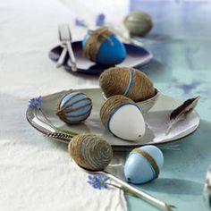 Kreativ mit Jute: Eieridee zum Nachmachen