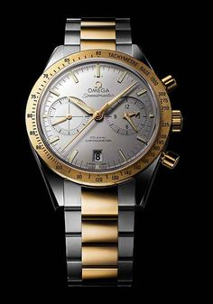 At Baselworld 2013, Omega introduced a retro-styled version of its well-known Speemaster chronograph watch, the Omega Speedmaster '57 Co-Axial Chronograph, nicknamed for the year of the first Speedmaster's release and featuring that original model's straight lugs that extend from the case and its familiar bracelet.
